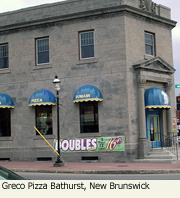 Bathurst New Brunswick location